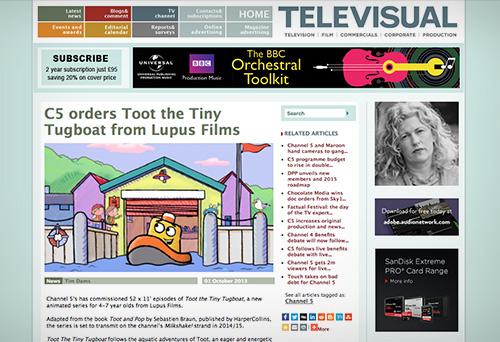 Televisual News